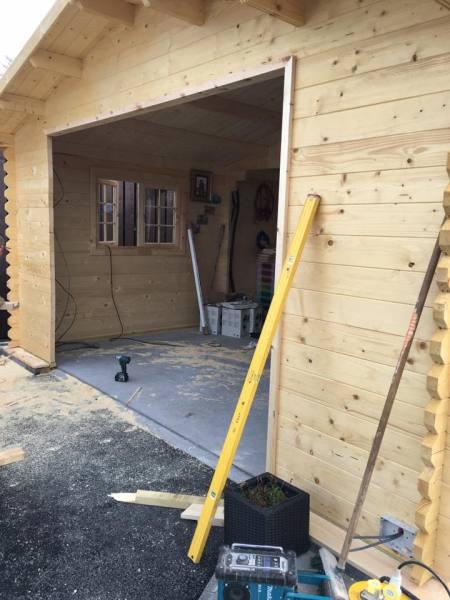 Timber Garage