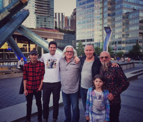 Dinner with Boulevard, Vancouver July, 2017