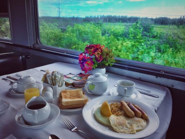 Breakfast in the Prairies