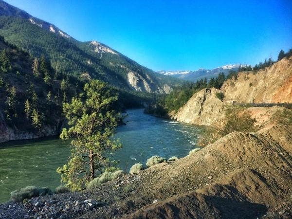 Postcard Views through the Canadian Rockies