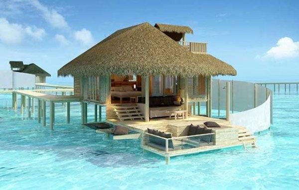 Overwater Bungalow Suites, Four Seasons, Bora Bora.