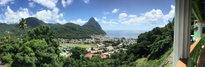 The beautiful St. Lucia