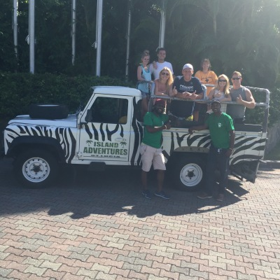 The gang on our Jeep Tour