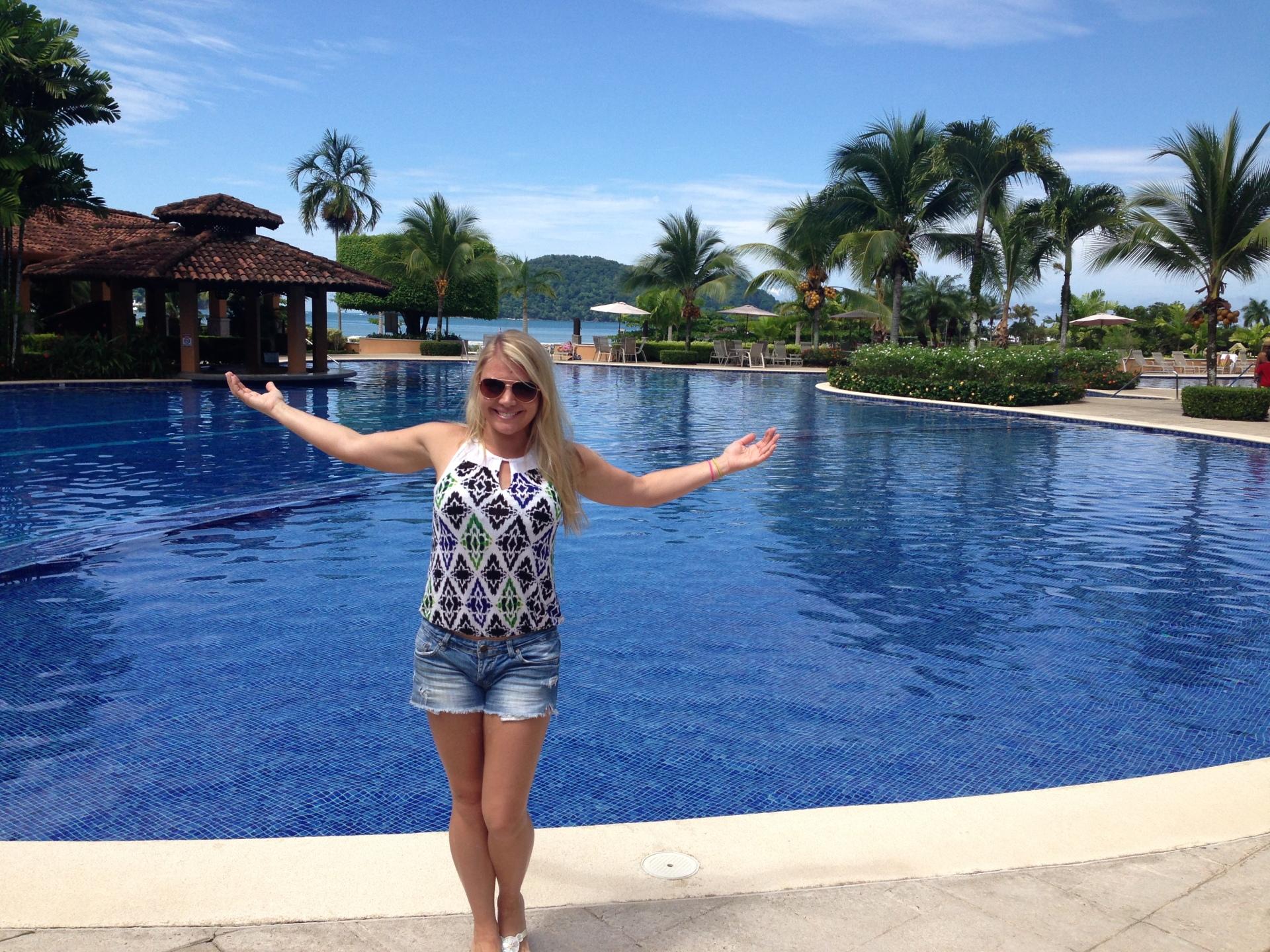 At the Resort Pool