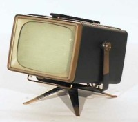 Antique + Vintage + Old + Televisions + TV Sets + TV's