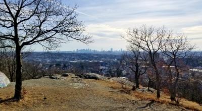 Waitts Mount, 5 mi outside Boston, Jan 27 2018