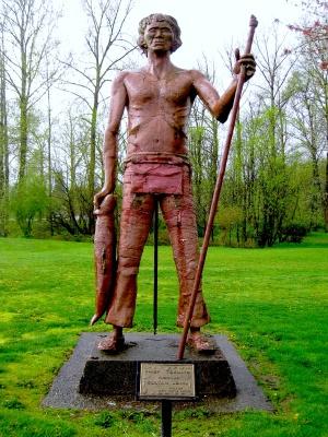 Statue of Tseultd AKA Sultan John