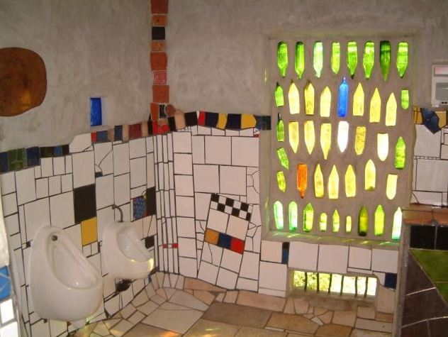 Hundertwasser Toilets - Kawakawa