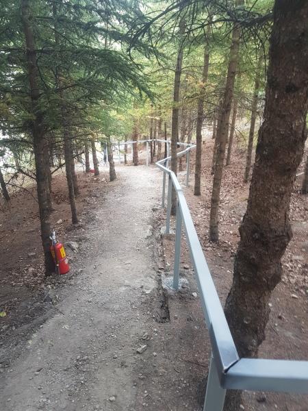 Mountain Park Handrail Construction