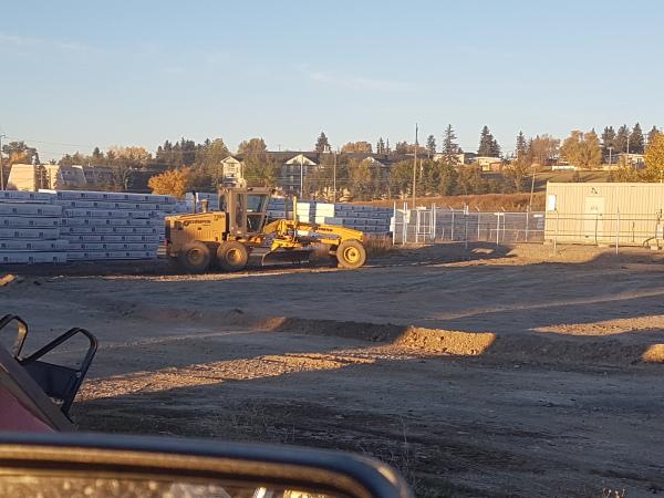 Parking Lot Contour and Development