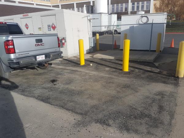 Parking lot and Bullard Installation Complete