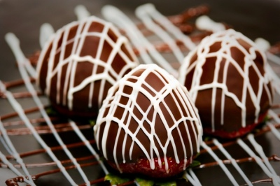 Scottish Strawberries Dipped in Chocolate