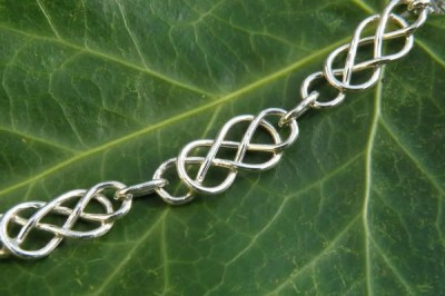 Classic Celtic Bracelet in Silver