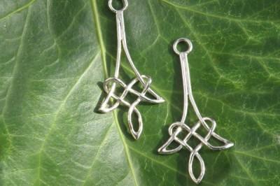 Small Celtic Drop Earrings