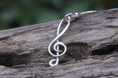 Treble Clef Earring