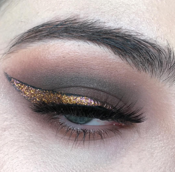BROWN SMOKY & GLITTER WING | feat. Impromptu Karaoke Session