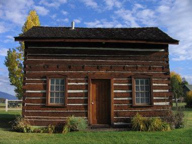 Fr. Ravalli's cabin restored - 2016