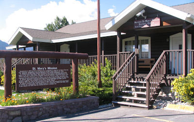 The Visitor's Center at Historic St. Mary's Mission
