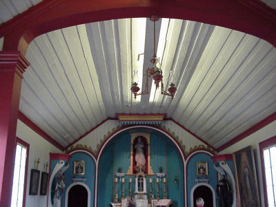 Ceiling in the Chapel of St. Mary's
