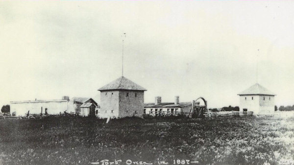 Ft. Owen Trading Post in 1887