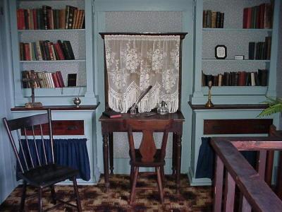 Desk made by Fr. Ravalli