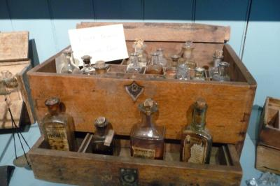 Medicine box used by Fr. Ravalli