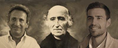 Carlo, Fr. Anthony and Guglielmo Ravalli