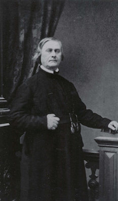 Fr. Pierre Jean De Smet, S. J. founder of St. Mary's Mission
