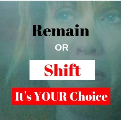 Will You Remain or SHIFT?