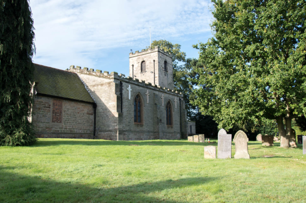 St Wilfrids church back view - Image @ Stuart Noall