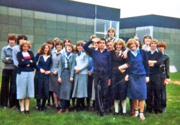 Colonel Frank Seely 5th form maths class 1980