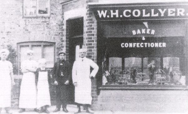 WH Collyer Baker and Confectioner