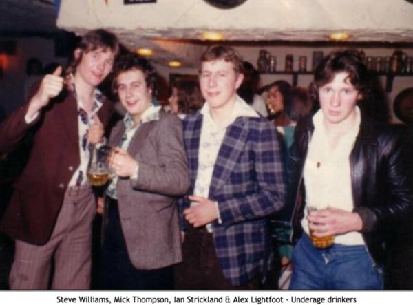 1974 Nottingham Bier Kellar