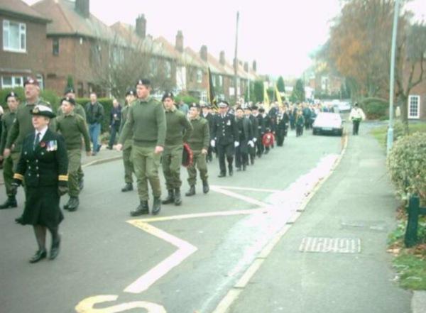 2002 Remembrance Procession