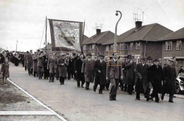 1956 Num Banner parade