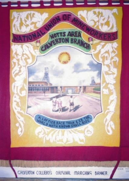 NUM Banner by Les Yates