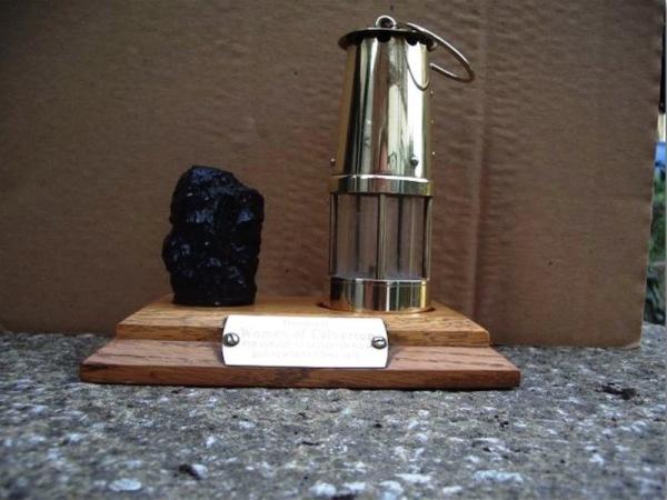 Lamp and Coal memento