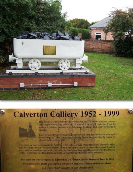 Minecar memorial