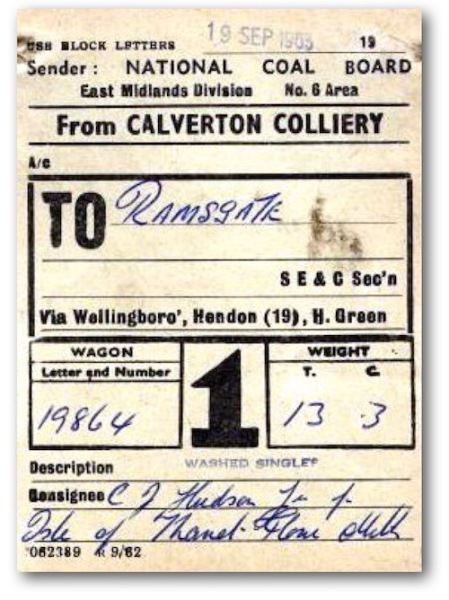 Wagon label