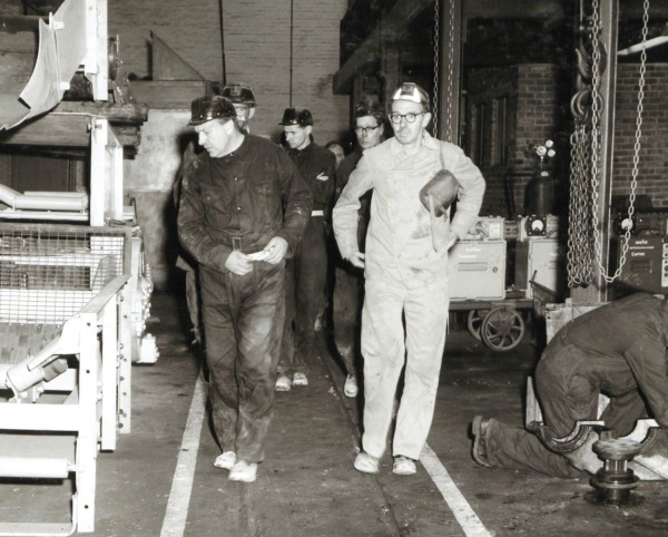 September 12th 1961: NR Smith, Esquire, In the Electrical Workshop