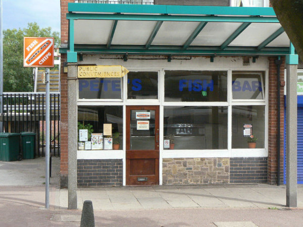 Pete's Fish Bar.