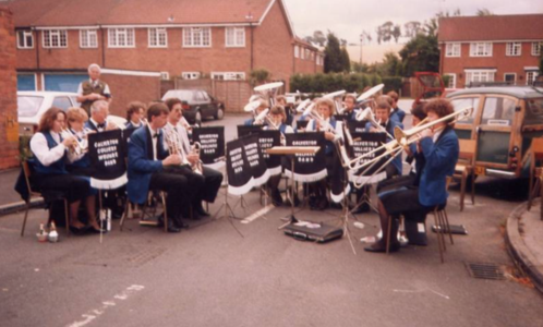 1988 at the opening of St Anthony's church