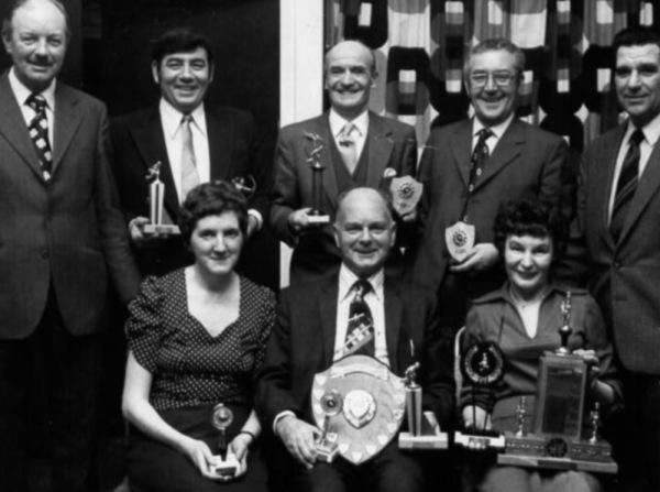 1972 Bowls Club awards