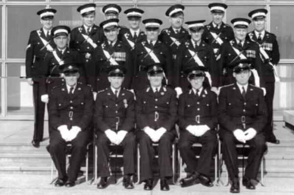 St John's Ambulance crew circa 1960