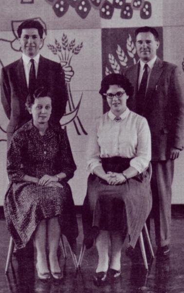 Original 1960 Sherbrooke Staff.