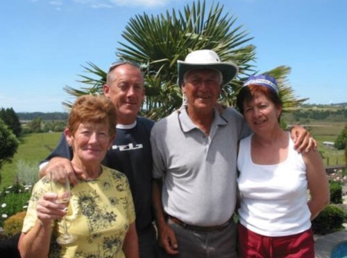 Ex Calverton villagers, the Christians, in New Zealand