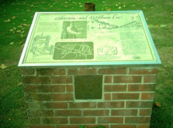 Calverton & William Lee Memorial  outside C.W.M.C