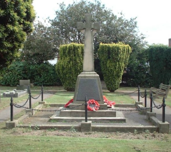 War Memorial,  Mansfield Lane Cemetery