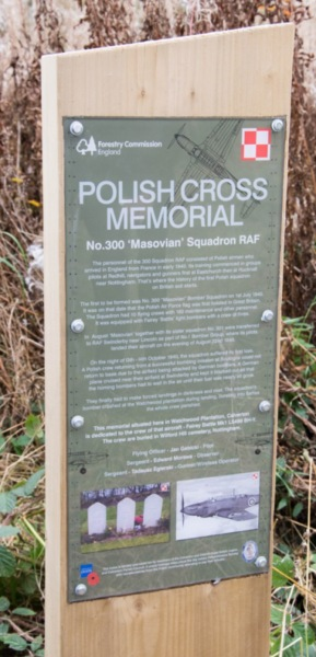 Polish aircrew memorial Plaque