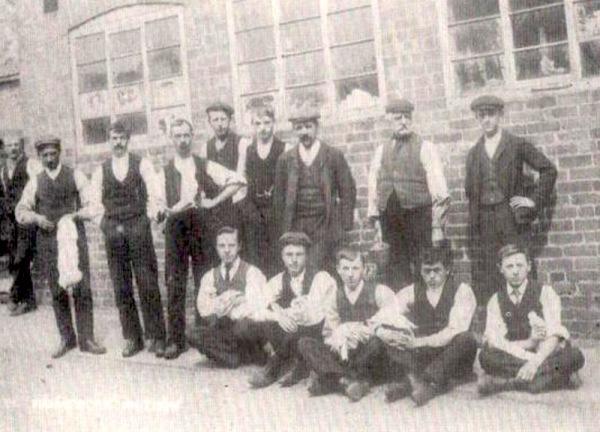 Village Handframe Knitters 1900s